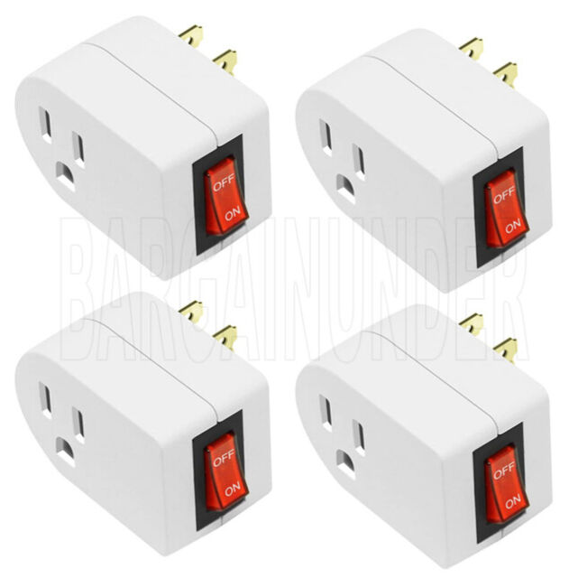Three Prong Adapter Power Grounding Grounded Outlet Plug 2 3 Pcs For Sale Online Ebay