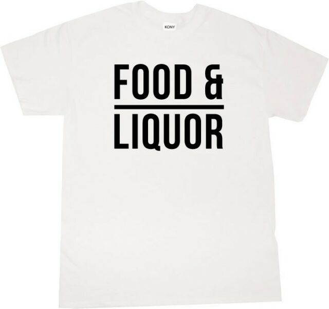 KINGS OF NY FOOD AND LIQUOR LUPE GRAPHIC T SHIRT MUSIC FIASCO SHORT SLEEVE NYC