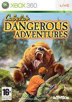 Cabela's Dangerous Adventures Xbox 360 It Import Activision Blizzard