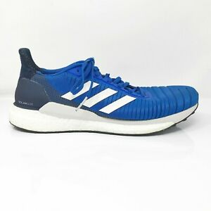 Adidas-Mens-Solar-Glide-19-F34099-Blue-Running-Shoes-Lace-Up-Low-Top-Size-10-5