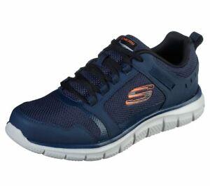 Skechers-Sport-Mens-TRACK-KNOCKHILL-Sneakers-Men-Blau