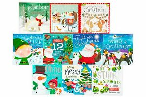 Christmas-Wishes-Collection-10-Books-Set-Children-Picture-Books-Gift-Pack