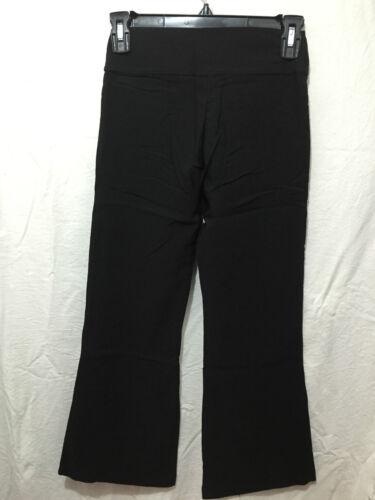 BNWT Girls Sz 16Y Black Stretch Bootleg LW Reid Brand School Uniform Long Pants