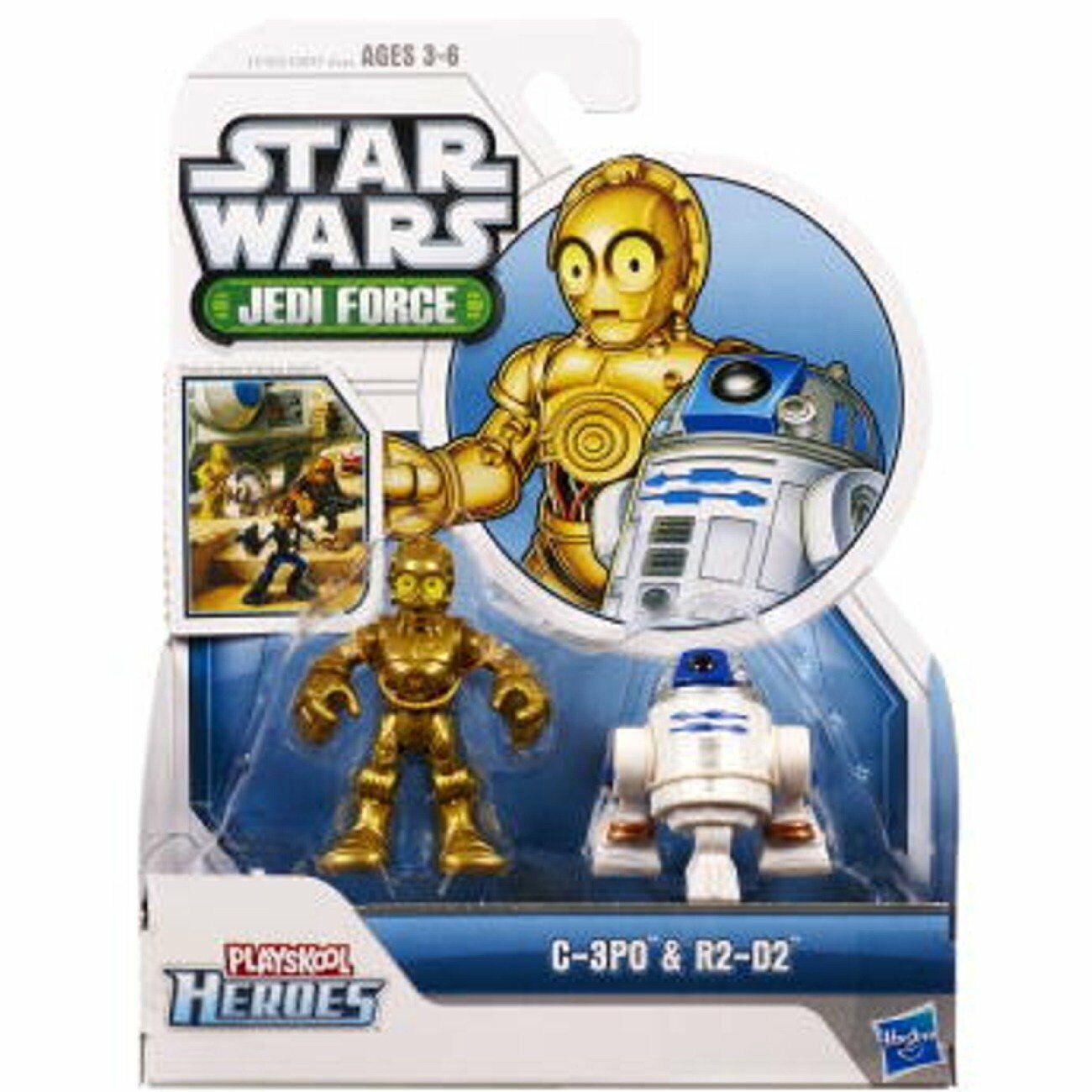 Stern Wars 2011 Playskool Jedi Force Mini Figure 2Verpackung - C-3PO & R2-D2