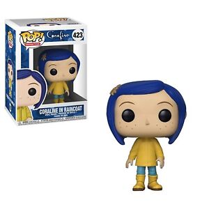 Funko-POP-Movies-Coraline-Coraline-in-Raincoat-with-Brand-New-In-Box