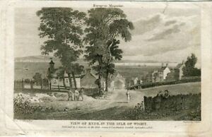 View-Of-Ryde-IN-The-Isle-of-Wight-Engraving-By-S-Rawle-1806