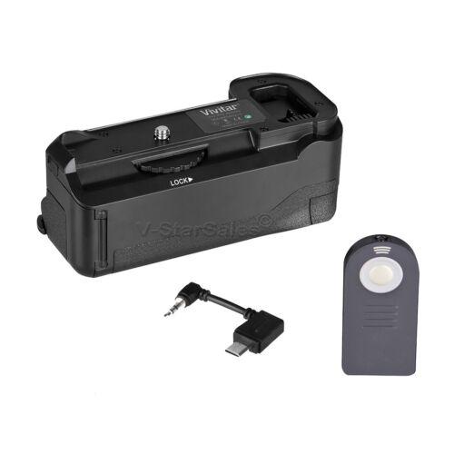 Vivitar Battery Grip para Sony A6000 NP-FW50 reemplazo de la batería