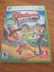 Backyard Sports Sandlot Sluggers (2010) - XBox 360 ...