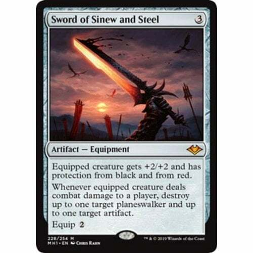 Modern Horizons The Gathering Sword of Sinew and Steel Magic