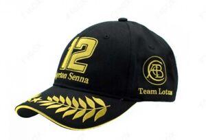 Ayrton-Senna-Black-Team-Lotus-Hat