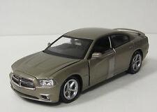 2011 Dodge Charger Diecast Model Car - NewRay Toys - 1:24 Scale - Dark Titanium