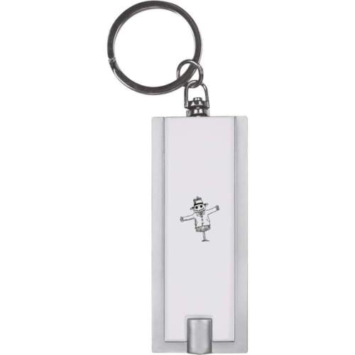 KT00007131 /'Scarecrow With Bird/' Keyring LED Torch
