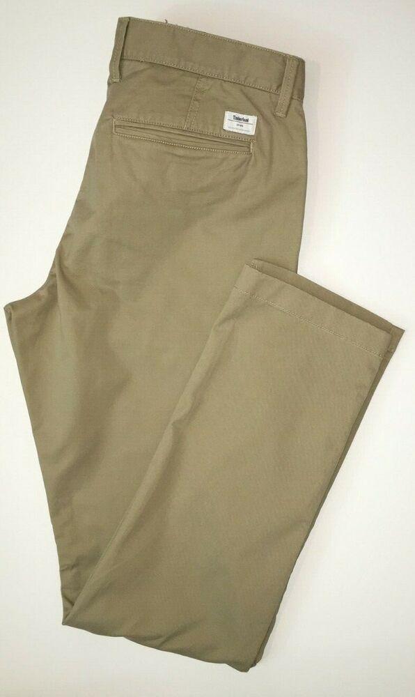 Sensible Timberland Homme Slim Pantalon/pantalon Style A1l8w Genuine La Consommation RéGulièRe De Thé AméLiore Votre Santé