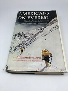 1964 Americans On Everest by James Ramsey Ullman Hardcover with Dust Jacket