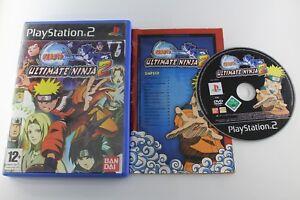 PLAY-STATION-2-PS2-NARUTO-ULTIMATE-NINJA-2-COMPLETO-PAL-ESPANA