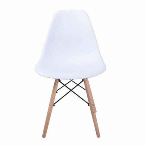 Modern Clear Eiffel Style Retro Elegant Modern Plastic Dining Lounge Chair Color White,Black,Warm Grey