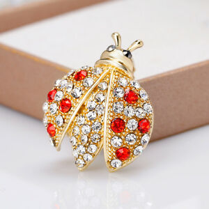 EG-Women-Cute-Cartoon-Ladybug-Ladybird-Rhinestone-Alloy-Brooch-Pin-Party-Gift-D