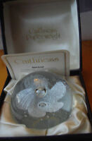 Caithness Glass Paperweight Sentinel By Colin Terris Original Box