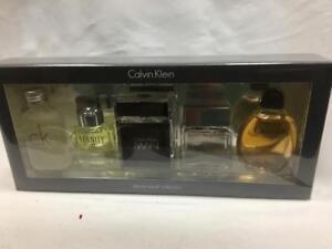 67807121da Calvin Klein Miniature Gift Set 5pcs Deluxe Travel Collection 10ml ...