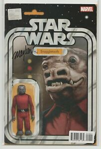Star-Wars-15-Action-Figure-Variant-SIGNED-by-Mike-Mayhew-Snaggletooth-DF