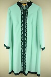 f5068671bc Vintage Sears Women s At Home Mint Green Cotton Poly Pajama Night ...
