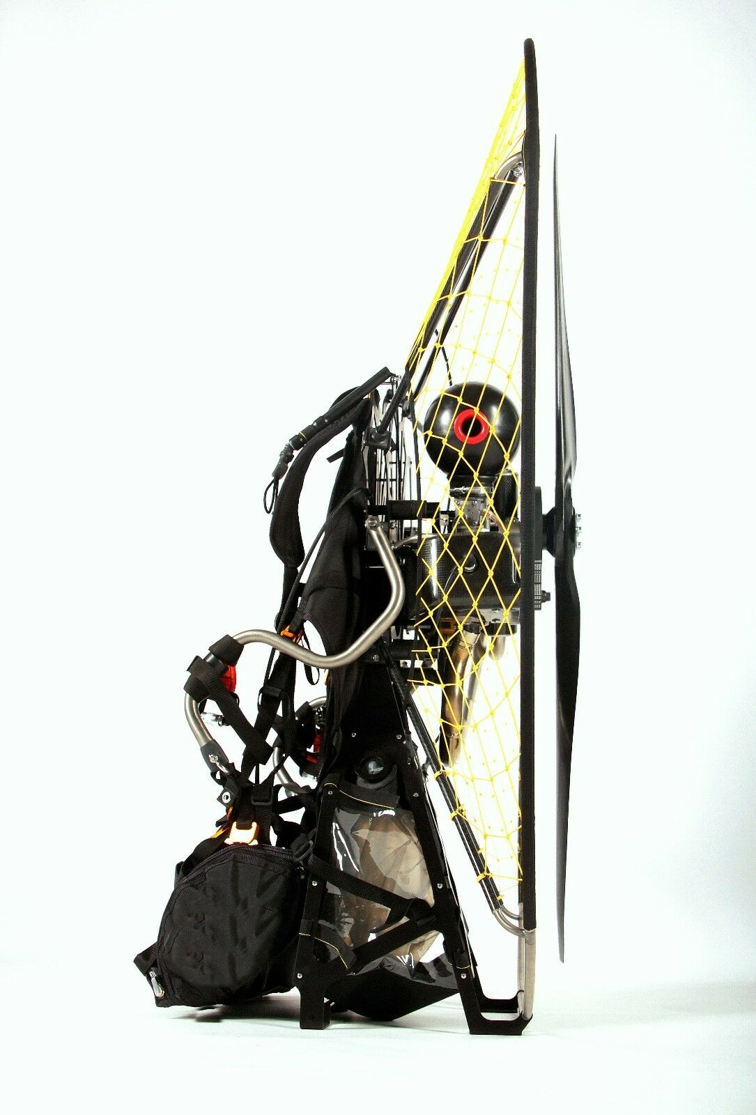 EOS 100 on titanium-carbon frame-lightest paramotor on the market 18 kG-39Lb
