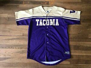 Tacoma Rainiers Authentic Team Issued University Of Washington Jersey MILB
