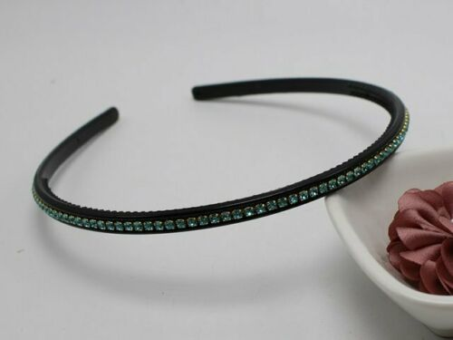 Details about  /5 Pcs Clear AB Crystal Rhinestone Slim Thin Headbands Hair Band Headpiece 6mm