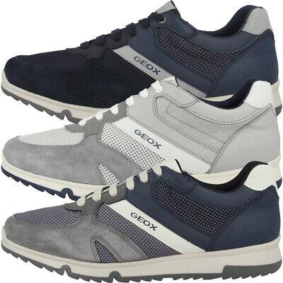 GEOX U Wilmer B Schuhe Men Herren Freizeit Sneaker Halbschuhe U923XB05422C1003