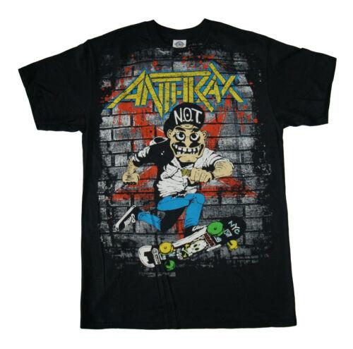 ANTHRAX Official t SHIRT Skater Guy T Shirt S-M-L-XL-2XL Brand New