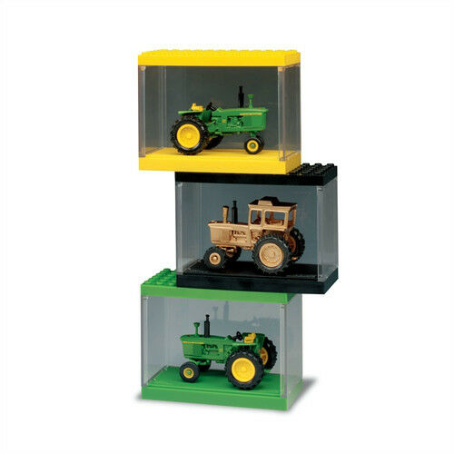 1/64 ERTL JOHN DEERE 4020 3 PC. STACKER TRACTOR SET - 40TH ANNIVERSARY OF 4020