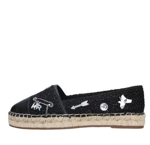 Femme Karl Amf36 Lagerfeld Espadrilles Chaussures karl Noir wqqnaHBZ8