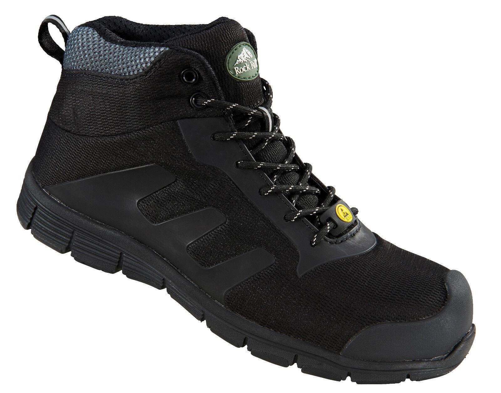Rock Fall Tesladri RF120 Vegan Friendly black S3 ESD Dita Composite shoes