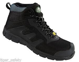 Vegan Steel Toe Work Shoes For Men