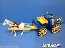 (M309.3) playmobil Fiacre poney ranch 3117/3120/4190