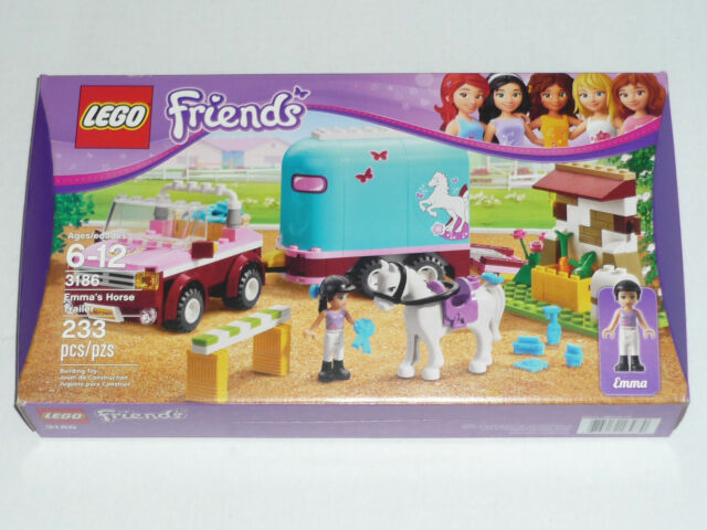 Lego Friends Emmas Horse Trailer 3186 Ebay