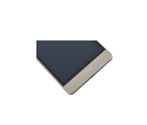 PANTALLA TACTIL LCD COMPLETA  PARA HUAWEI ASCEND P8 LITE Dorado CON MARCO