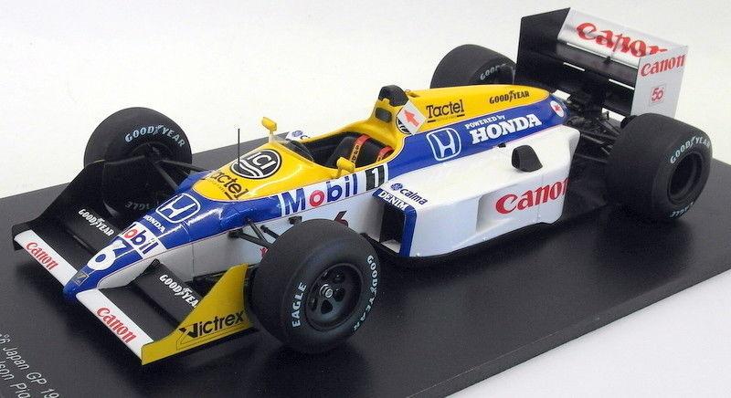 Spark 1 18 Scale Resin - 18S118 Williams FW 11B Japan GP 1987