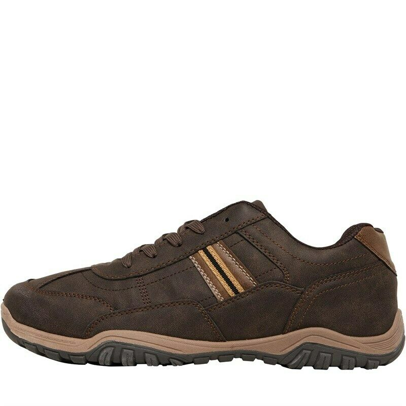 Mad Wax Lace Up Casual Mens Trainer Sneakers Brown Size UK 6-12 N753
