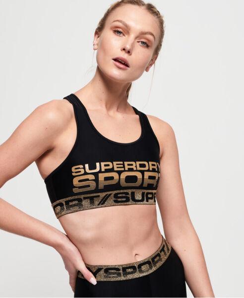 Superdry Damen Bolt Sport-Bh