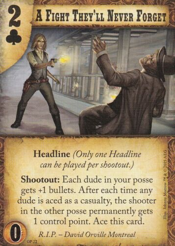 Alt Art Promo Doomtown Reloaded A Fight They/'ll Never Forget