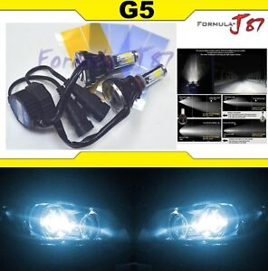 LED-Kit-G5-80W-9012-HIR2-8000K-Icy-Blue-Two-Bulbs-Head-Light-Dual-Beam-Replace