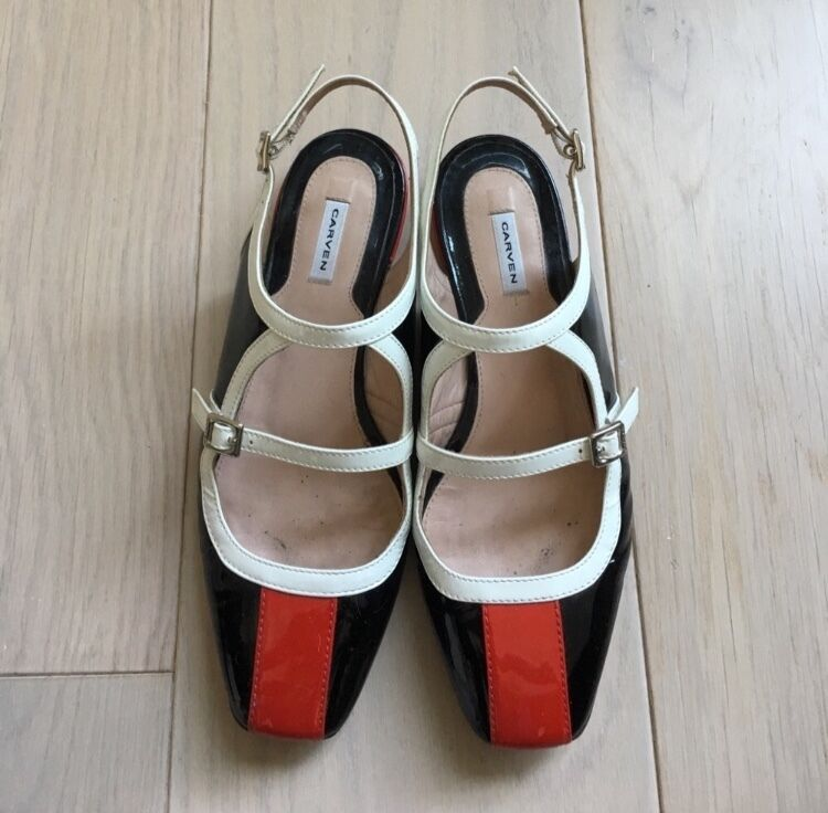 Men's/Women's Carven Patent Leather Flats Size 36 Crazy price, Birmingham Optimal price professional design