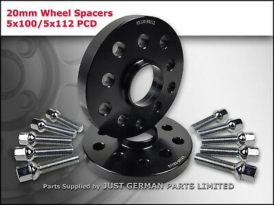 15mm Thick with Extended Bolts 57.1mm Centre Bore Alloy Wheel Spacers 5x100//112
