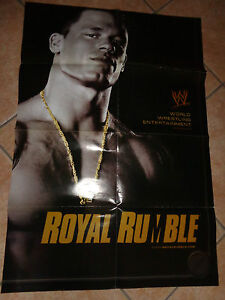 POSTER-POSTER-POSTER-THE-MOVIE-ROYAL-RUMBLE-CM-59X88-4-RAW-WRESTLING