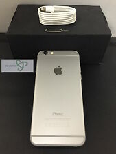 Apple iPhone 6-16GB -plata Naranja/EE/Tmobile/Virgen-grado A excelente