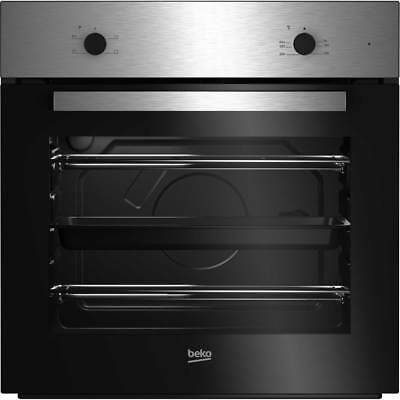 Beko BRIC21000X Built In 59cm Electric Single Oven Stainless Steel New