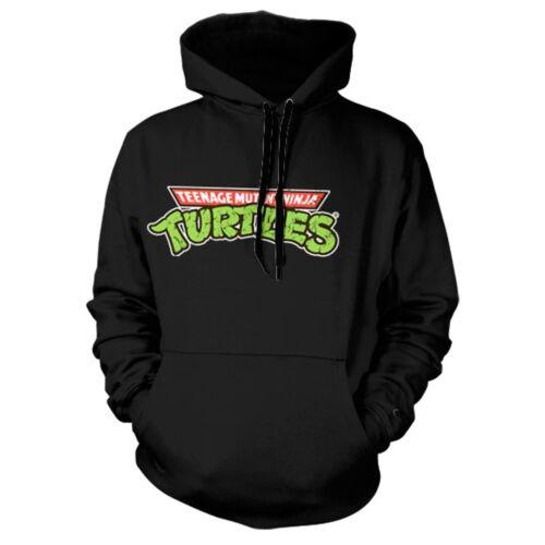Official Movie Ninja Hoodie Black Sweater Logo Teenage Turtles Tmnt Mutant rzqr4xP