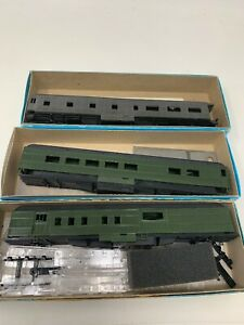 Ho-Scale-Passenger-Train-Car-Shell-Lot-3-Mix-Undecorated-SHELL-Base-ONLY-N2-3