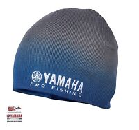 Yamaha Pro Fishing Beanie Crp-15bne-gy-ns Charcoal To Blue W/ Pro Fishing Logo